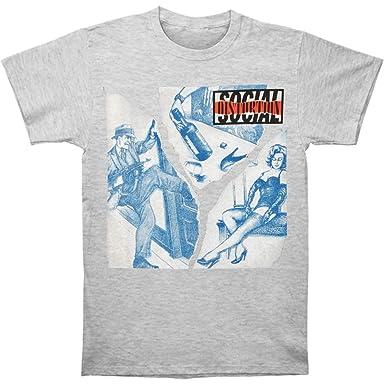 Amazon com: Social Distortion Men's Bootleg Tee T-Shirt Heather