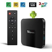 Sofobod TX3 MINI TV Box Android 7.1 TV BOX 2GB/16GB 4K TV S905W Quad core H.265 Decoding 2.4GHz WiFi - 2GB/16GB