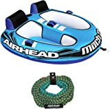 amazon com airhead mach 1 single rider inflatable boat towable