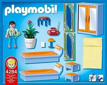 PLAYMOBIL - Dormitorio, Set de Juego (4284): Amazon.es: Juguetes y juegos