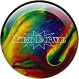 Bowlingball Pro Bowl - Bola de bolos, color violeta, azul y amarillo