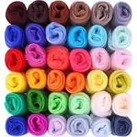 Felt Wool Fairy Wool 36 Colores Conjunto De