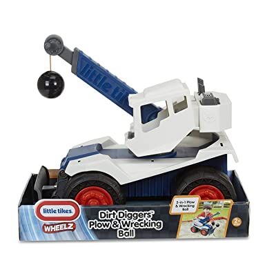 Little Tikes Dirt Digger Plow & Wrecking Ball: Toys & Games