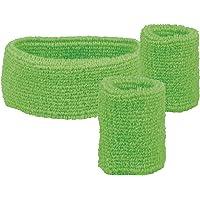 Boland 01894banda y muñequeras tergisudore, verde, talla única