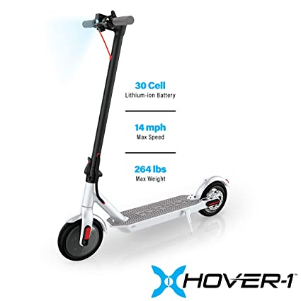 Hover-1 Journey Electric Folding Scooter, White