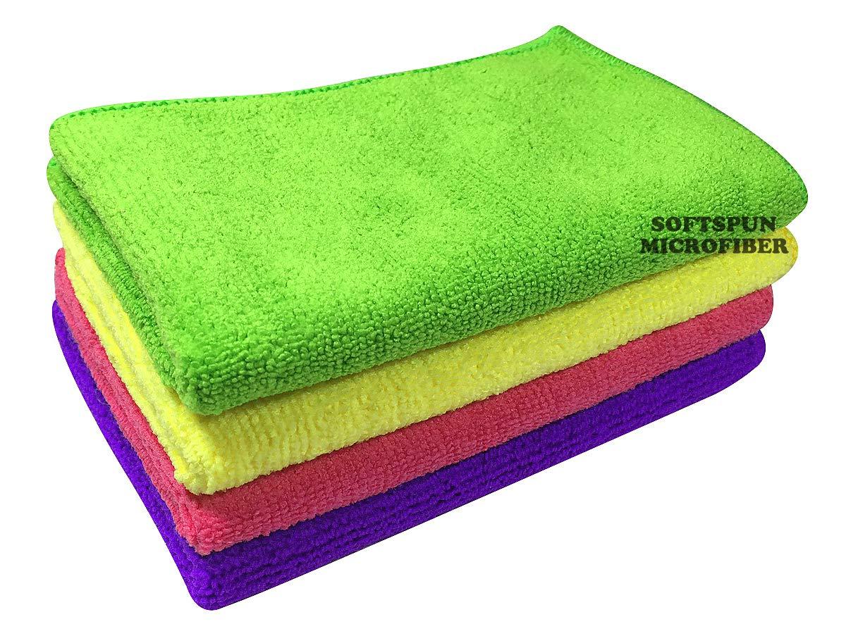Microfiber Cloth – 4 pcs – 30×40 cms – 340 GSM