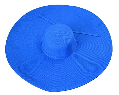 6a6c46b7 Image Unavailable. Image not available for. Color: Jeanne Simmons Women's  Flat Wide Brim Sun Hat ...