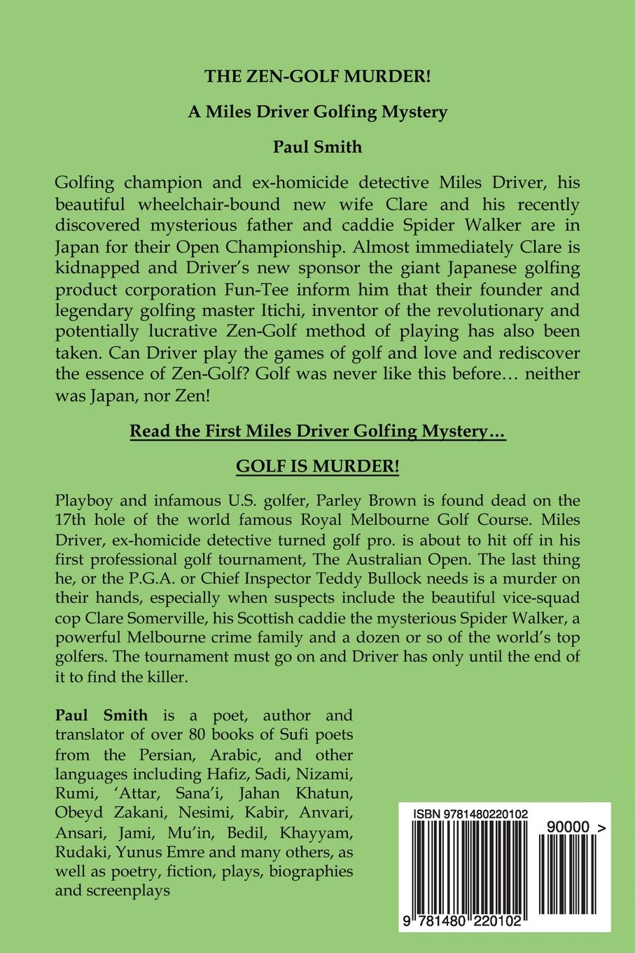 The Zen-Golf Murder! (A Miles Driver Golfing Mystery Book 2)