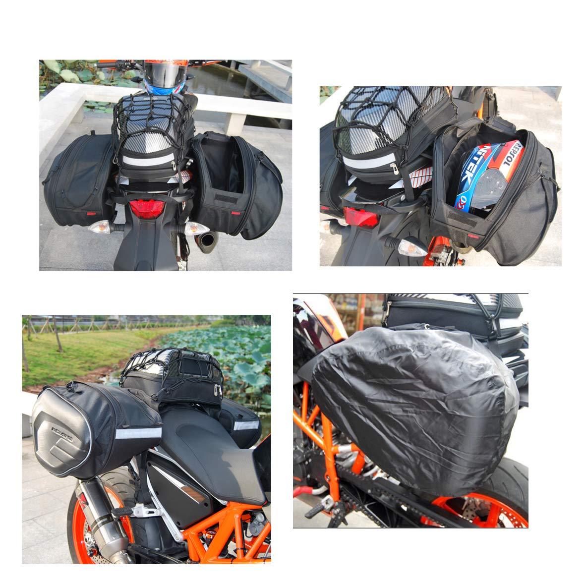 /Impermeabile Oxford Moto Bagagli Borse con Strong Magnetica JFG RACING Moto Serbatoio Magnetico/ /Universale per Honda Yamaha Suzuki Kawasaki Harley BMW Ducati pi/ù Grande Finestra/