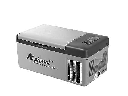 Amazon.es: Alpicool C15 DC Frigorífico y congelador para coche ...