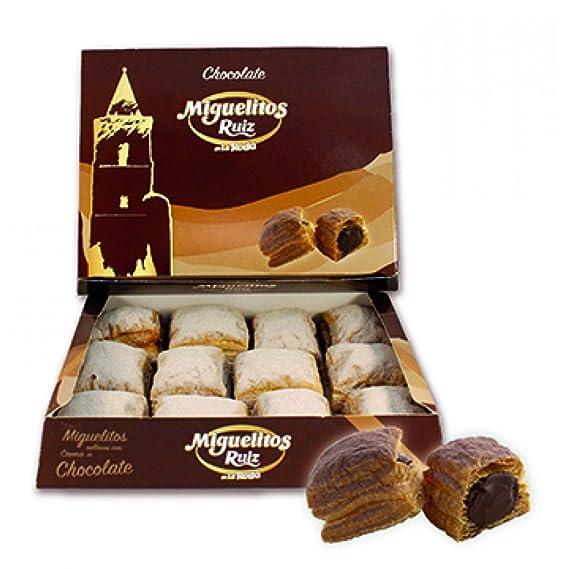 """Miguelitos de La Roda """"Ruiz"""" (Chocolate)"""