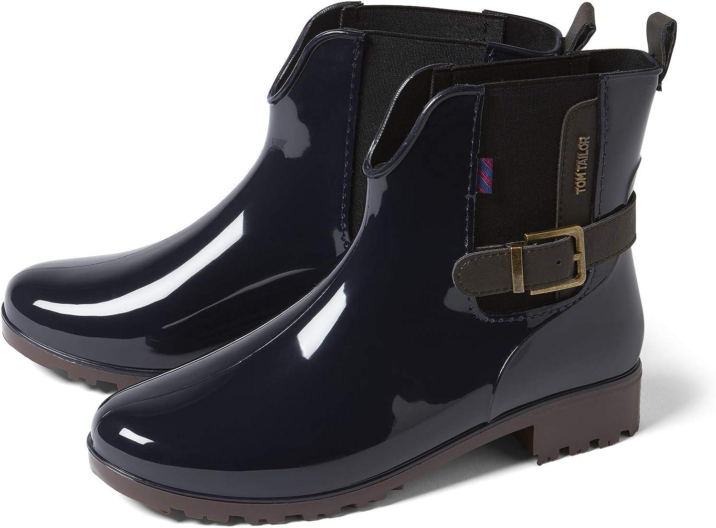 bottes de pluie tom tailor navy