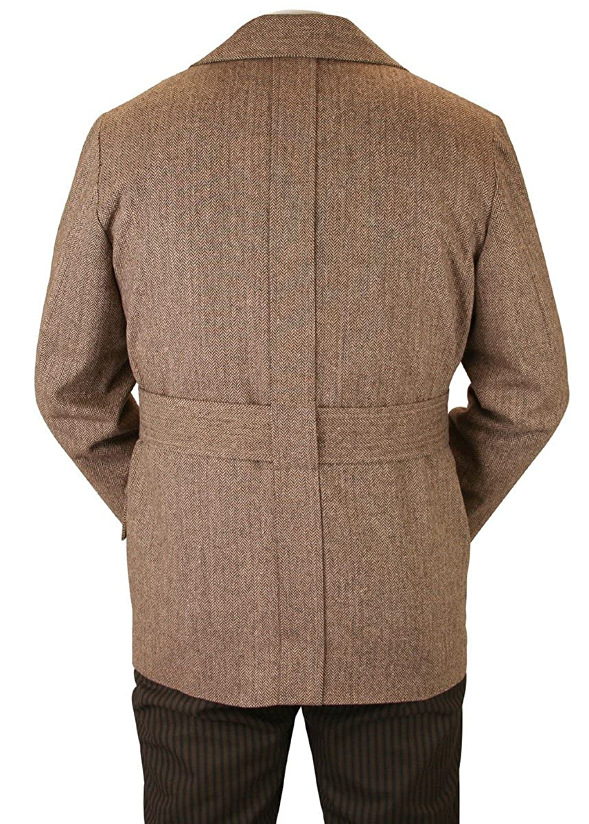 Amazon.com: Histórico Emporijm - Chaqueta de lana para ...