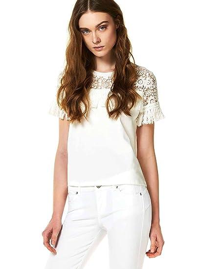 Liu Jo F18219J1782 T-Shirt Women White 40