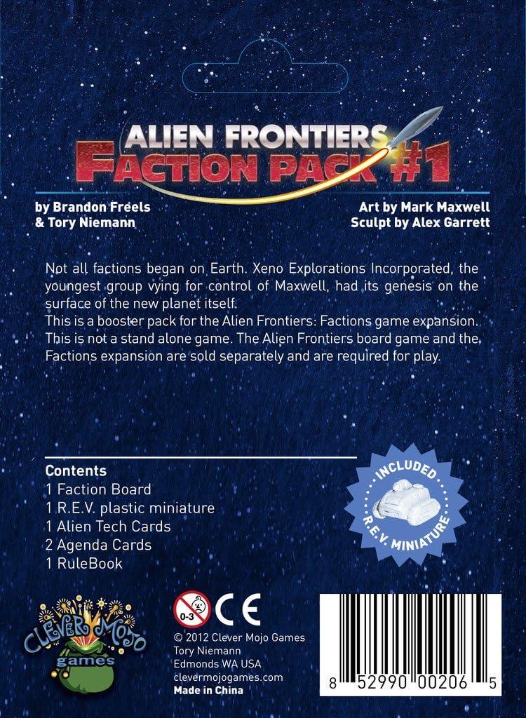 Game Salute Alien Fronteras Facciones Pack 1 Juego De Mesa: Amazon ...