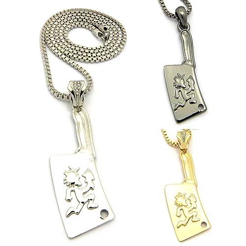 Mens new hip hop trendy hatchet man pendant charm box chain necklace mens new hip hop trendy hatchet man pendant charm box chain necklace black aloadofball Gallery