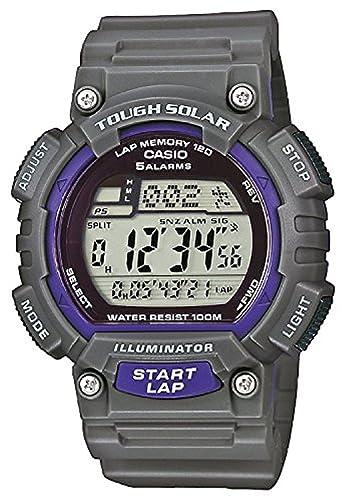 Casio Reloj Digital para Hombre de Cuarzo con Correa en Resina STL-S100H-8AVEF