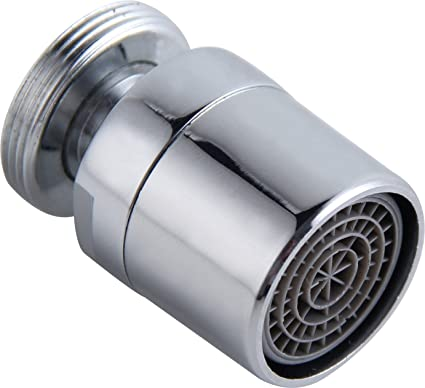 Pleasing Kelica 1 5Gpm Kitchen Sink Aerator Solid Brass 360 Degree Swivel Water Saving Faucet Aerator 55 64 Inch 27Uns Male Thread Polished Chrome Download Free Architecture Designs Jebrpmadebymaigaardcom