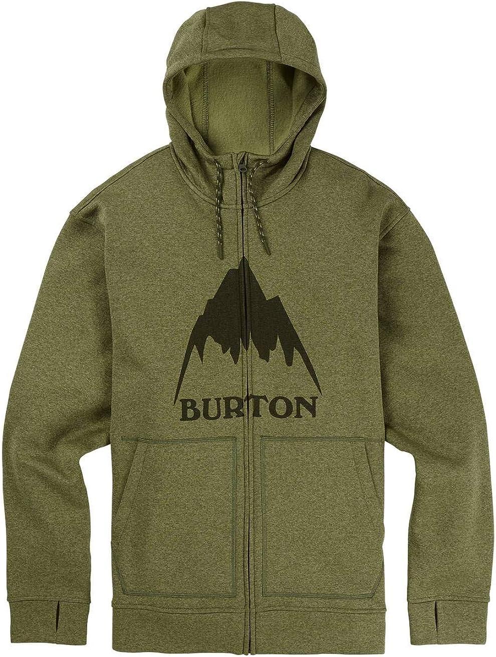 Burton Oak Full-Zip Sudadera, Hombre