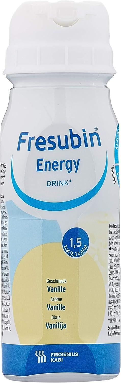 fresubin Energy Drink Vainilla, – Alimentos, 24 x 200 ml
