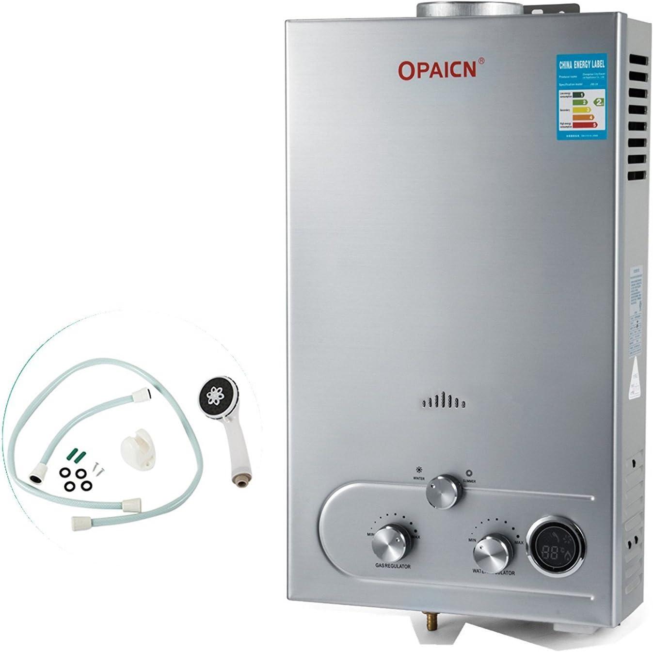 Guellin LNG Calentador de Agua de Gas Natural Calentador de Agua Calentador de Agua Automático Calentador de Agua Instantáneo Natural Gas Water Heater (16L)