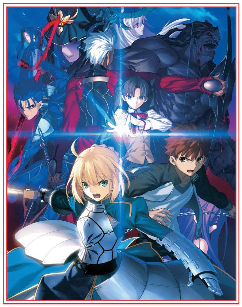 Fate / Stay Night Unlimited Blade Works TV Series Season 1 BLURAY (Limited Edition) (Eps #0-12) by Aniplex USA