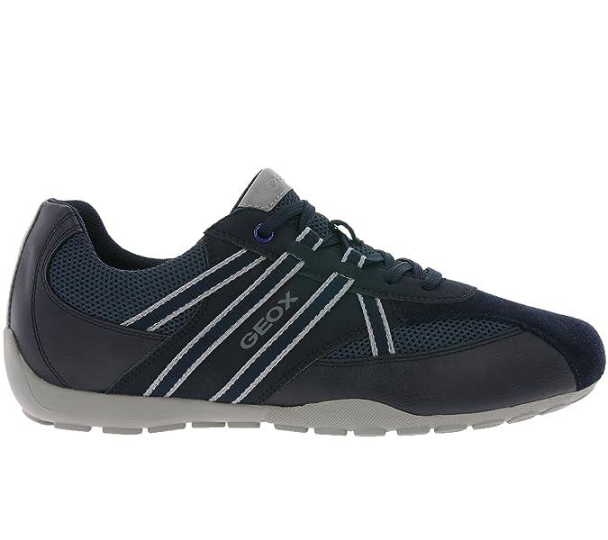 0a2b5c3b4392 Geox U743FB 05411 Ravex Herren Sportiver Schnürschuh Lederimitat System   Geox  Amazon.de  Schuhe   Handtaschen