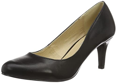 Buffalo Shoes C404A1 P1735A PU Scarpe col Tacco con Cinturino a T Donna