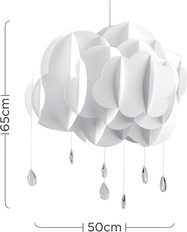 MiniSun - Hermosa pantalla con forma de nube de tamaño extra ...