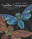 Ruby Charm Colors Creative Companion: 2019 Organizer & Coloring Art Journal