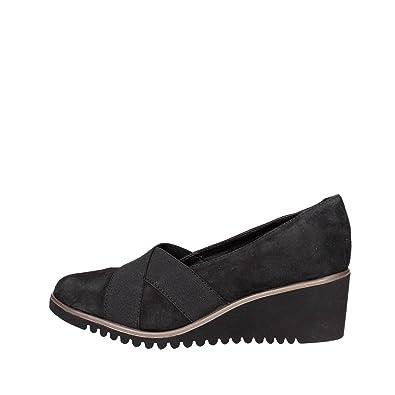 Cinzia Soft IV5266-SP 003 Mocassin  Femme Noir Noir - Chaussures Mocassins Femme
