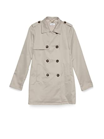 Motivi Women s Technical Fabric Trench Coat b32eb46100fc