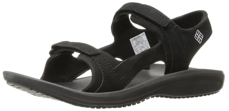 Columbia Women's BarracaSunlight Athletic Sandal B01HEHNUHG 5 B(M) US|Black, White