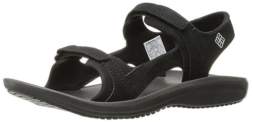 Columbia Barraca Sunlight, Zapatillas de Deporte Exterior para Mujer, Negro (Black/White 010), 41 EU