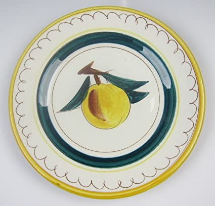 Stangl Pottery FRUIT 3697-YELLOW Bread and Butter Plate(s) VERY GOOD  sc 1 st  Amazon.com & Amazon.com | Stangl Pottery FRUIT 3697-YELLOW Bread and Butter Plate ...
