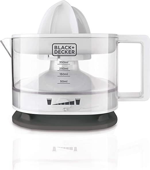 Black+Decker BXCJ25E Exprimidor Manual, 25 W, 350 milliliters ...