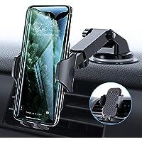 VICSEED Handyhalter fürs Auto Handyhalterung Armaturenbrett/Windschutzscheibe/Lüftung Universal Kfz Handy Halterung für iPhone 11 Pro XS Max XR X 8 7 Plus, Samsung S10 S9 S8, Huawei Mate30 P30 Pro