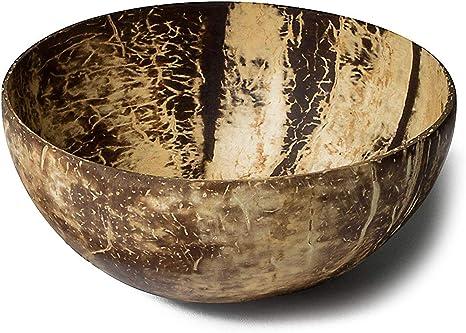 ShangSky Coconut Bowls Kokosnuss Schale Nat/ürlich Bowl Sch/üssel Handgefertigt Umweltfreundlich Buddha Bowl f/ür Dekoration Fruchtsnack