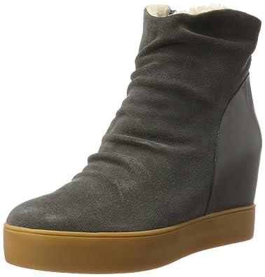 523df25251873c Shoe The Bear Damen Trish FUR Stiefel Grau (141 Dark Grey) 38 EU ...