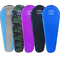 Self Inflating Sleeping Pad for Camping Backpacking Hiking - Premium Camping Pad Lightweight Foam Padding Inflatable and Superior Insulation Great For Camping Outdoors Hiking Thick Outer Skin