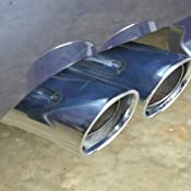 2 X BMW Genuine Z4 Chrome Exhaust Tailpipe Tip Tips for Z4 2.5