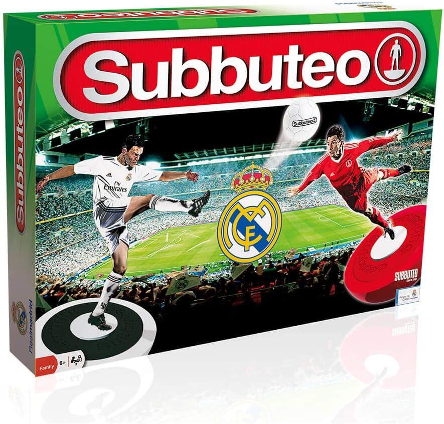 Real Madrid Subbuteo Playset CF (11060), Multicolor: Amazon.es ...