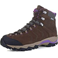 XPETI Women's Yellowstone Water-Resistant Leather Hiking Boots