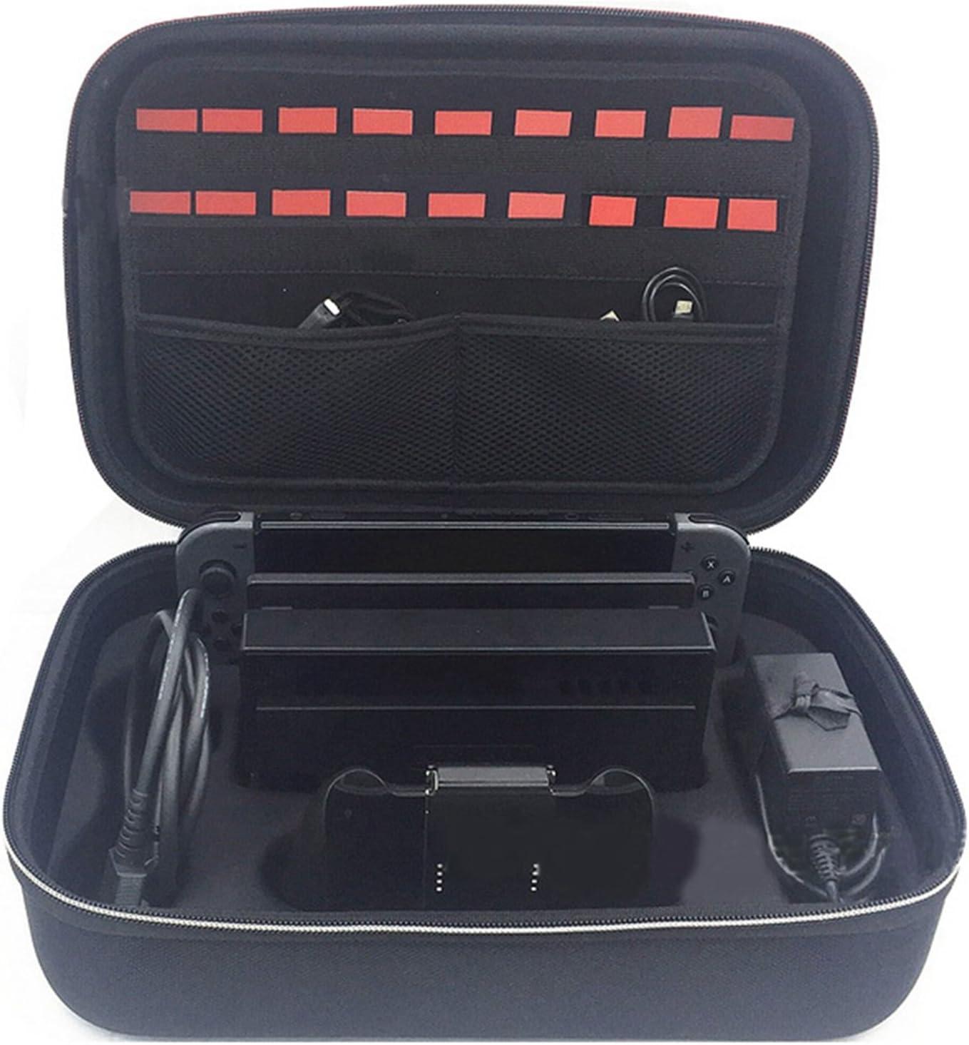 XBERSTAR - Maletín rígido de EVA para Nintendo Switch Joy-con y Accesorios: Amazon.es: Electrónica