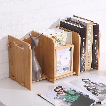 JX&BOOS Estantería,Escritorio Biblioteca Estudiante Creativo extensión Mini Tipo Almacenamiento de Escritorio pequeño Estante-B 62x20x24cm(24x8x9): Amazon.es: Hogar