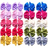 QandSweat Baby Girl Hair Clips Hair Bows Barrettes for Baby Toddlers Teens