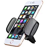AEDILYS Air Vent Car Mount Phone Holder with 360° Rotation for iPhone 7/7 Plus/6S/6 Plus 5S SE, Samsung Galaxy S7/S6 edge/S6( Black)