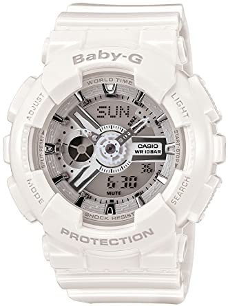 d2e2d2587edd Image Unavailable. Image not available for. Color: Casio Baby-G Big Case Series  BA-110-7A3JF Women's Watch ...
