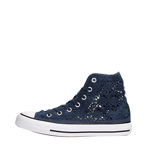 converse all star alte blu