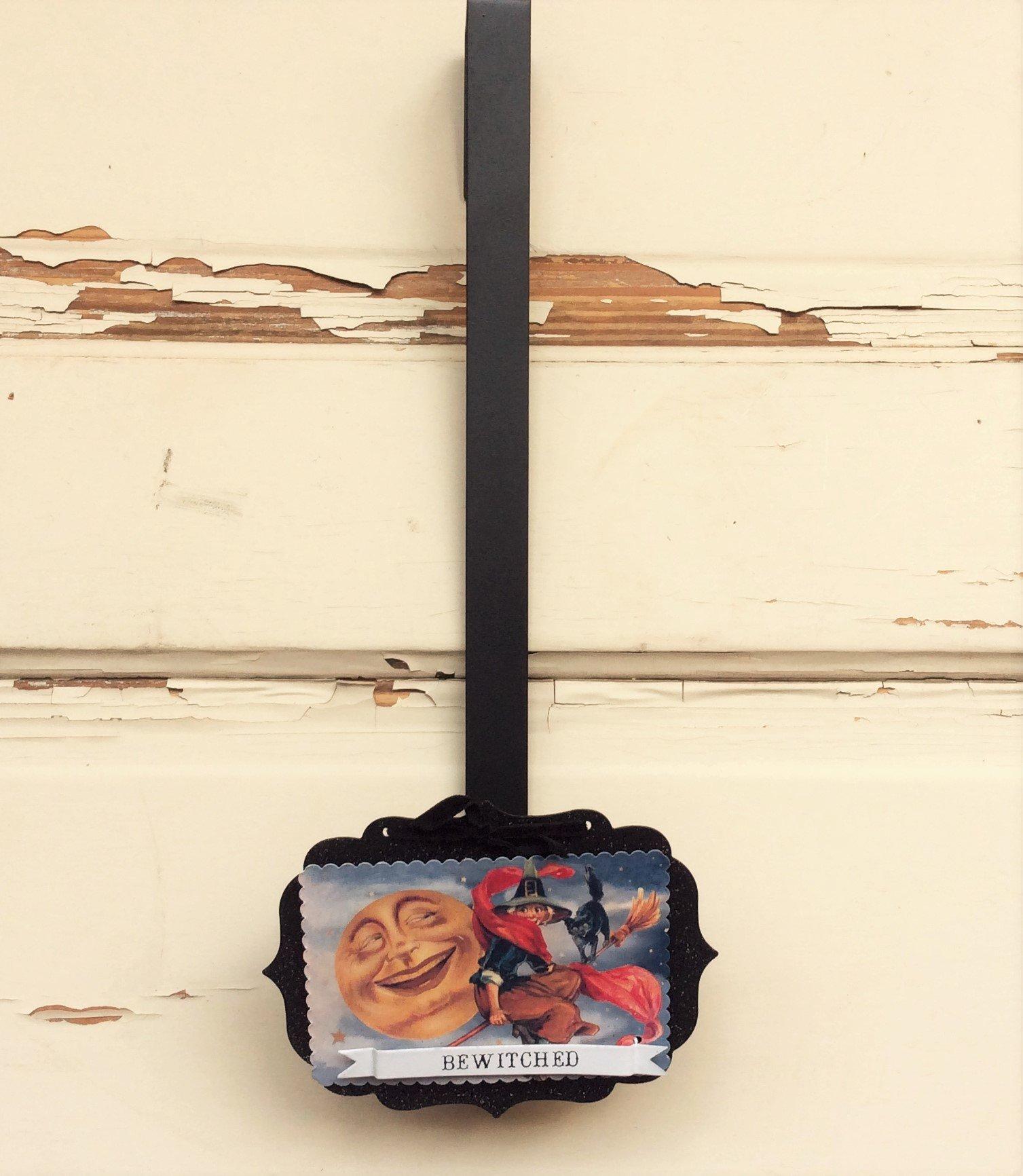 AG Designs Halloween Decor - Wreath Door Hanger Hook Vintage Bewitched #16OCT11